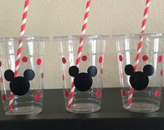 Decoraciones de Mickey Mouse cumpleaños inspirado por UptownAbby…