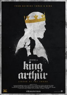 KING ARTHUR: Legend of the Sword alternative character poster design. My submission for #talenthouse #kingarthur creative invite.
