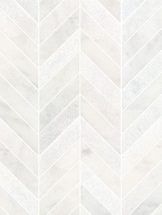 With a little more greeeeen White modern marble chevron mosaic backsplash tile Marble Tile Backsplash, Marble Mosaic, Mosaic Tiles, Backsplash Ideas, Modern Mosaic Tile, Herringbone Backsplash, Carrara Marble, Chevron Tile, Mosaic Bathroom