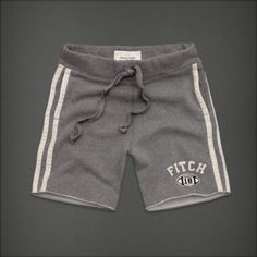 Abercrombie And Fitch Mens Athletic Shorts Aftershave Fierce afc0005 Sale: $45.47