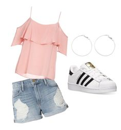 Designer Clothes, Shoes & Bags for Women Bb, Adidas, Spring, Frame, Summer, Polyvore, Stuff To Buy, Collection, Tops