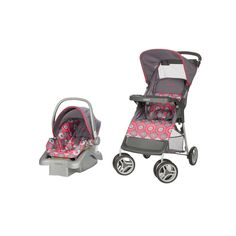 Cosco Lift Stroll Travel System Multicolor