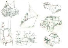 Ultrabook de Héloïse Bourquard Portfolio : Sketches
