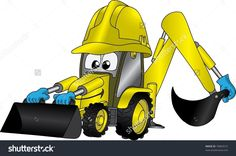 Image result for animated digger
