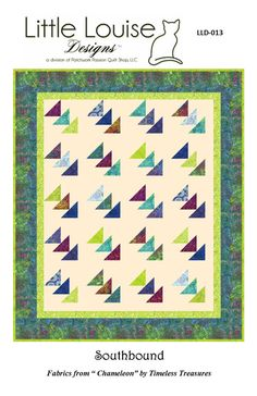 Quilt Pattern Southbound Flying Geese Quilt Easy with