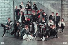 NCT 2018 Black On Black - Twitter Update 18/04/2018
