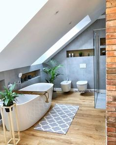 Easy Steps That Will Help You On Your Home Improvement Path for Bathroom Lighting Many people try to tackle home improvement jobs every day. Some succeed, while other either fail or find it too difficult to do and just give up. Home Best Bathroom Tiles, Loft Bathroom, Bathroom Interior, Modern Bathroom, Small Bathroom, Bathroom Lighting Design, Bathroom Light Fixtures, Lofts, Amazing Bathrooms