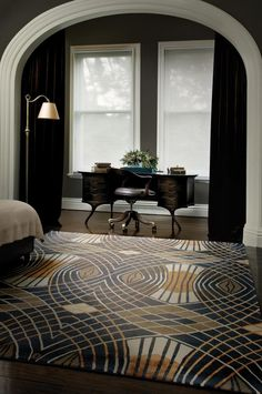 Catherine Martin's Art Deco Designer Rugs Collection | Sassi Sam Girlie Gossip Files
