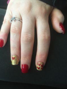 Nails done by Kiki Nail Salon :)! #valentinesday