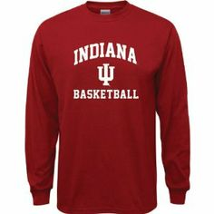Indiana Hoosiers Cardinal Red Youth Basketball Arch Long Sleeve T-Shirt by Drms Apparel. $18.99. Indiana Hoosiers Cardinal Red Youth Basketball Arch Long Sleeve T-Shirt