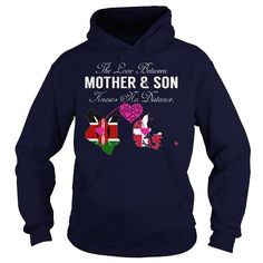 Awesome Tee THE LOVE BETWEEN MOTHER AND SON - Kenya Denmark T-Shirts