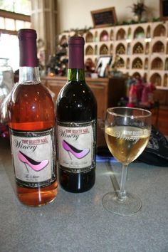 Over 20 varietals of delicious wine is produced at the Rusty Nail Winery in Sulphur, Oklahoma.