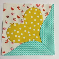 PatchworknPlay: More random bits.... heart quilt block