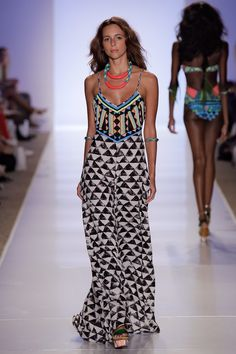 Seriously, Mara Hoffman. This collection is just nuts!! Not sure if this is a dress or jumpsuit.. Hoping it's a dress..