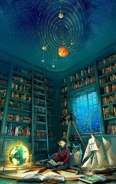 """ufo-the-truth-is-out-there: """" Submission* Boundless: By YUUMEI """""""