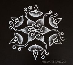 Rangoli Side Designs, Simple Rangoli Border Designs, Diya Designs, Rangoli Designs Latest, Free Hand Rangoli Design, Small Rangoli Design, Rangoli Designs Diwali, Rangoli Designs With Dots, Rangoli Designs Images