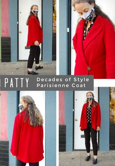 Stonemountain Spotlight: Our Boiled Wool/Viscose Makes! - Stonemountain & Daughter Fabrics Diy Clothes Patterns, Bias Tape, Viscose Fabric, Fall Wardrobe, Spotlight, Perfect Fit, Fabrics, Daughter, Leather Jacket