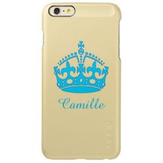 Royal Crown Incipio Feather® Shine iPhone 6 Plus Case #shine #british #royalcrown #custom