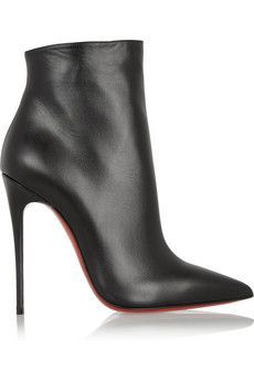 Christian Louboutin So Kate 120 leather ankle boots | NET-A-PORTER