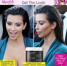 Kim Kardashian Hair Jimmy Kimmel Live