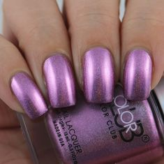 Color Club Is It Love Or Luster? swatched by Olivia Jade Nails Jade Nails, Olivia Jade, Color Club, Nail Shop, Nails On Fleek, Swag Nails, Luster, Swatch, Nail Designs