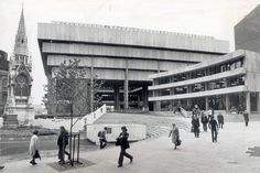Iconic - and much argued over - public building shuts for last time ahead of new Library of Birmingham's September opening Birmingham Library, Birmingham Uk, Council Estate, Library Pictures, White Heat, Central Library, Hill Park, Hill Station, West Midlands
