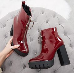 5dc8850ef714 Boots for stompin  all over the patriarchy in (and taking looong walks to  the