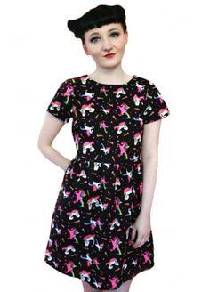 Tallulah's Threads Unicorn Skater Dress