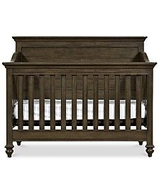 Buy the Universal Furniture 5351310 Jersey Direct. Shop for the Universal Furniture 5351310 Jersey Varsity Birch and Poplar Convertible Crib Frame with Three Mattress Heights and save. Old Baby Cribs, Best Baby Cribs, Best Crib, Baby Nursery Furniture, Nursery Room Decor, Rustic Nursery, Nursery Ideas, Crib Bedding, Bedding Shop