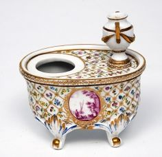 The Bowes Museum: Inkstand, c.1790