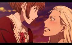 Ritsuka & Mage - Dance with Devils Manga Eng, I Love You Drawings, Kamigami No Asobi, Anime Reviews, Anime Japan, Bishounen, Diabolik Lovers, Anime Life, Cute Anime Couples