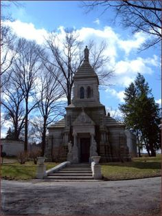 J.B. Ford mausoleum, 1893. Allegheny Cemetery, Pittsburgh, PA. An amazingly large and beautiful cemetery. 300 acres and over 124,000 graves.