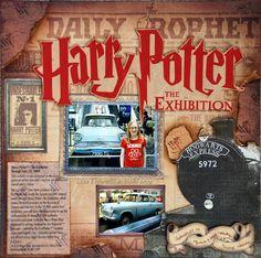 Harry Potter the Exhibition - Scrapbook.com