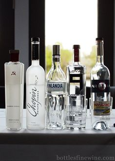 Vodka Tasting! http://bottlesfinewine.blogspot.com/2013/05/vodka-global-history-seminar-and-tasting.html