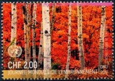 Stamp: World Environment Day (UNO Geneva) Mi:NT-GE 1009,Zum:NT-GE 1020