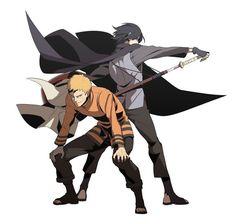 Naruto and Sasuke | They grow so fast ;-;