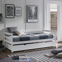 ¿Cómo adaptar una habitación infantil para dar el paso a un dormitorio juvenil? Bed, Furniture, Home Decor, Products, Wooden Beds, Kids Rooms, Bedding, Room Layouts, Decoration Home