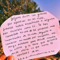Imagenes con Frases de Amor archivos - Imagenes para compartir Images with Phrases of Love archives Sad Love, Love You, Frases Love, Love Text, Love Phrases, Love Messages, Love Notes, Spanish Quotes, Love Letters