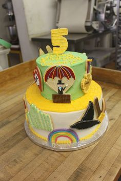 There's no place like Yummy Stuff Bakery to get your Wizard of Oz theme cake!