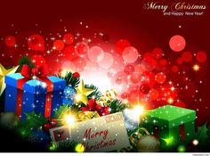 Merry Christmas wallpaper and Happy new year free download