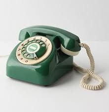 green retro phone - Поиск в Google