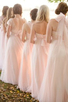 Featured Photographer: Amy Campbell Photography; bridesmaid dress idea, click to see more wedding details