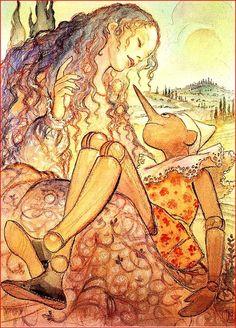 Pinocchio illustrated by Milo Manara