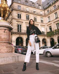 Gizele Oliveira sur Instagram : Flashback to Paris ♥️ #streetstyle #paris # • Instagram