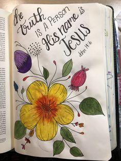 Bible Study Tips, Bible Study Journal, Journal Art, Bible Prayers, Bible Scriptures, Scripture Art, Bible Art, Bible John, Bibel Journal