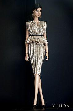 2015 July Fashion Look 1   by V. JHON DOLL