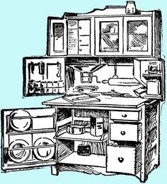1.bp.blogspot.com -pnfTlpsGe3Y T7ZIW7r3yQI AAAAAAAAFEU FOmIM3CwllM s1600 free+vintage+digital+stamp_hoosier+cabinet.jpg