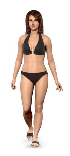 neat except I don't think I look like this in a swimsuit! Personalize your virtual model, then add your current weight and goal weight....see how different you will look!