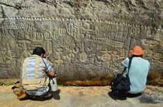 Does The Ingá Stone (Discovered in Brazil) Contain A Coded Message From An Alien Civilization? An Intriguing Mystery Of The Past?  Read more: http://www.messagetoeagle.com/ingastone.php#ixzz2zfn61GrV