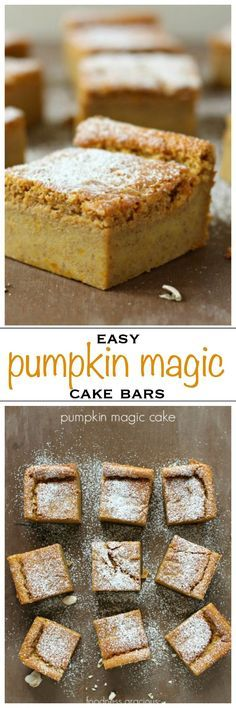 Magic Cake with a Pumpkin Spice Icing Pumpkin magic cake, light and creamy with layers of texture - Foodness GraciousPumpkin magic cake, light and creamy with layers of texture - Foodness Gracious Pumpkin Dishes, Pumpkin Dessert, Pumpkin Recipes, Pumpkin Spice, Pumpkin Pumpkin, Healthy Pumpkin, Vegan Pumpkin, Pumpkin Cheesecake, Coffee Recipes